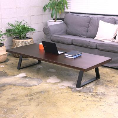 이홈데코 베어벨 원목 철제 테이블 1500