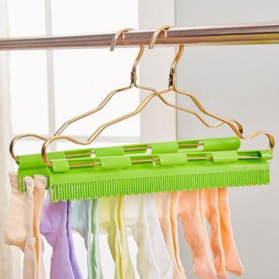 실속형 양말 건조 옷걸이 클립 1개(색상랜덤)