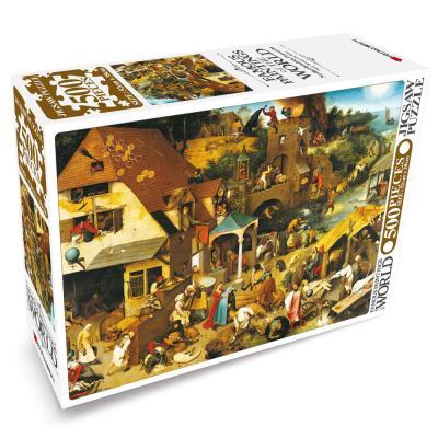 세계의 명화 직소퍼즐 500pcs 네덜란드 속담