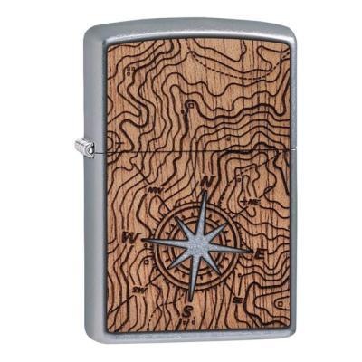 ZIPPO 라이터 49055 WOODCHUCK USA Compass