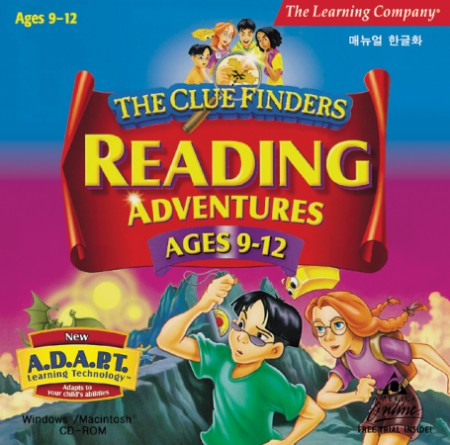 [CD-ROM]  Clue Finders Reading 9-12 / 리딩 3단계