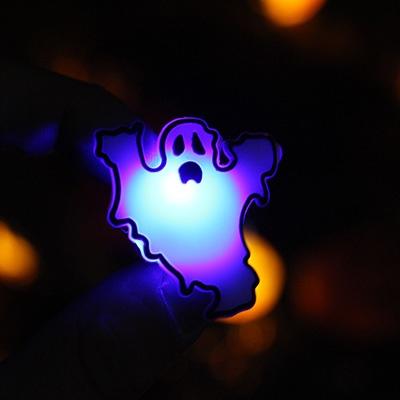 LED 플래시라이트 뱃지 (유령)