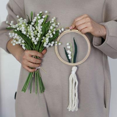 집콕 온라인 취미 클래스 - 은방울꽃 투명자수액자