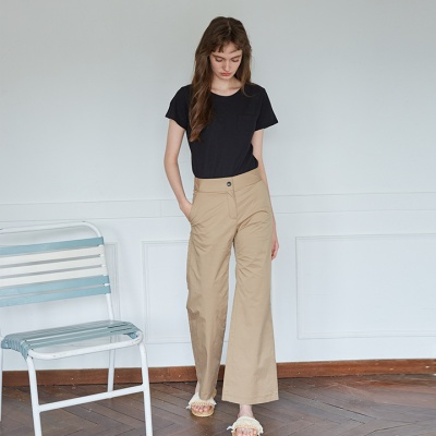 FORMMING PANTS_ BEIGE