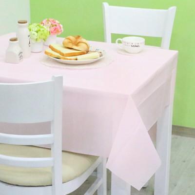 칼라 비닐 테이블보-핑크(1매입)