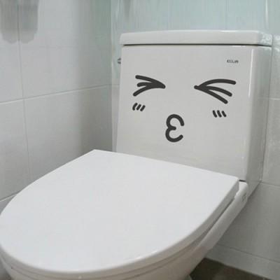 빠띠라인 욕실 디자인 표정스티커 b051_생글이 시리즈