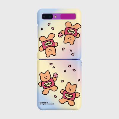 Blossom bear heart(Z플립-하드)