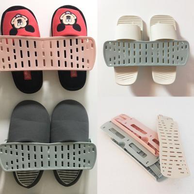[일상연구소] 접이식 신발 정리함 베이지/핑크/그린