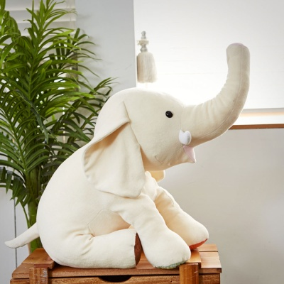 이젠베이비 오가닉엘리 아기바디필로우 코끼리인형