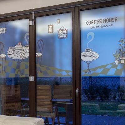dgse270-커피하우스-반투명시트지