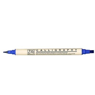쿠레타케 캘리그라피펜 MS 3400 PURE BLUE 030 1 펜