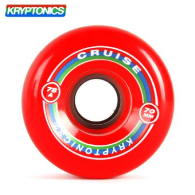 [KRYPTONICS] CRUISE RED 78A SOFT WHEELS 70MMX43MM