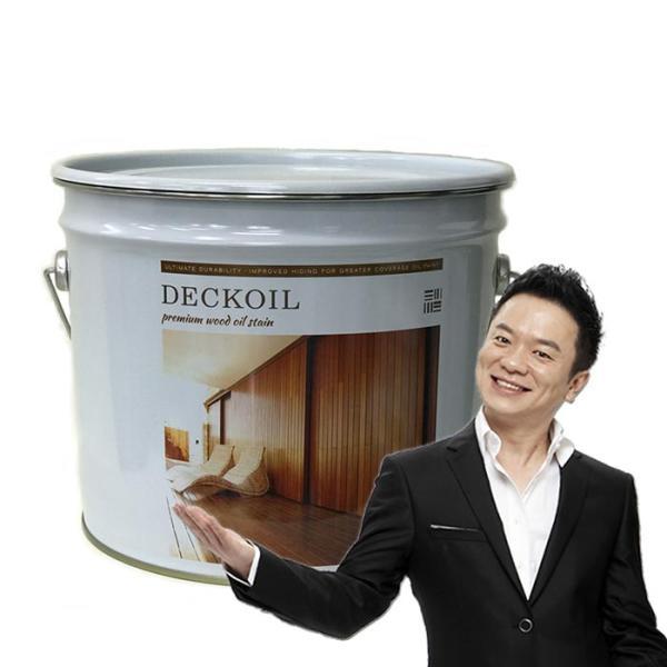마이칼라 데크오일 10L 데크 니스칠 나무페인트
