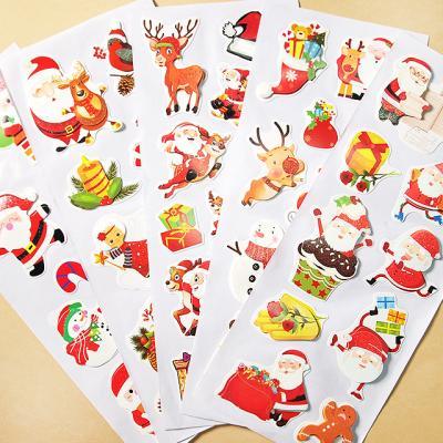 크리스마스 롱 데코 스티커 랜덤 5set