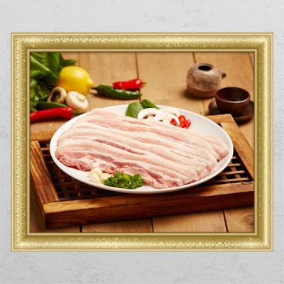 il253-신선한돼지고기3(삼겹살)_창문그림액자