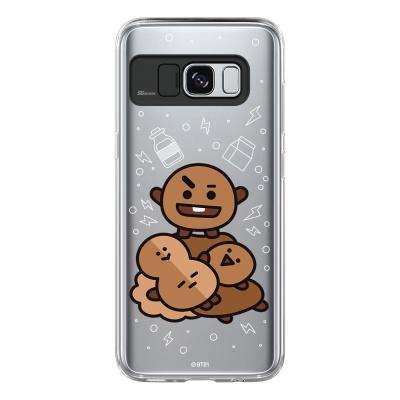 BT21 Galaxy S8 / S8 Plus 슈키 라이팅 케이스 (Soft 타입)