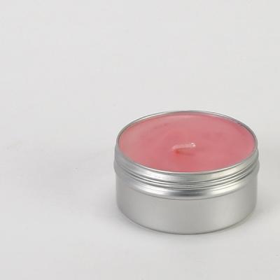 틴 케이스 캔들 50g(핑크-러블리)