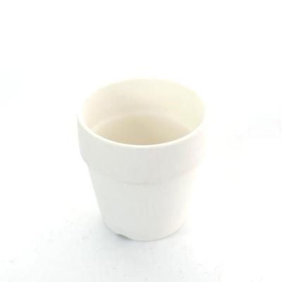 더플라워포터리 퓨어화이트 토분 표준형 (8x8cm)