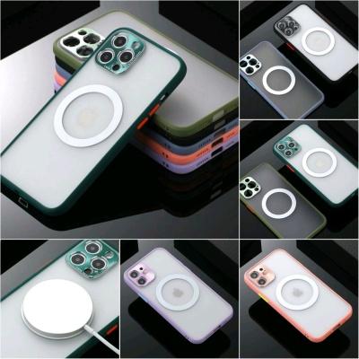 맥세이프 아이폰11 PRO MAX 무선충전 반투명 폰케이스