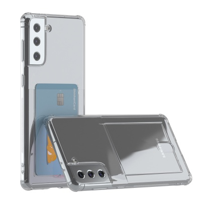 갤럭시 S21 플러스 아이스핏 에드온 TPU 카드 케이스