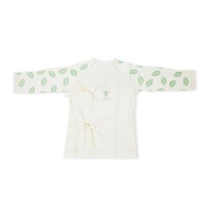 스윗하트 오가닉 나뭇잎 배냇저고리(신생아용)