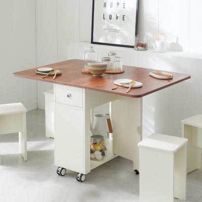 [랜선할인]이동형 폴딩 테이블 식탁(LPM) KD452
