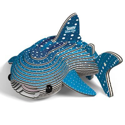 22피스 우드락 입체퍼즐 - 고래 상어