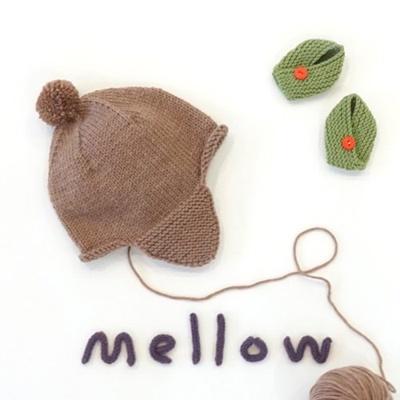 [멜로우] 니팅 키트 : 귀달이모자