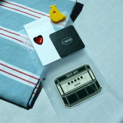 루카랩 아카이브 6공 다이어리 포켓
