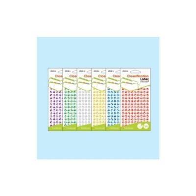 홀로그램견출지 20 7003B 청색(지름8 7장)