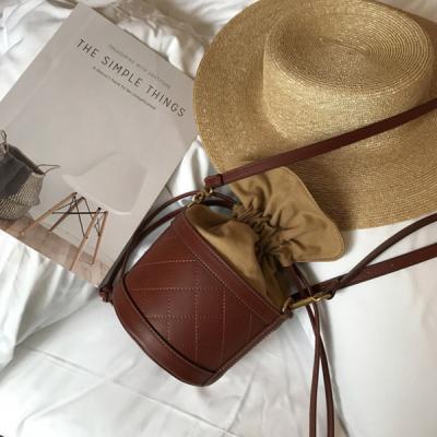 에리얼 여성 원형 복조리가방 버킷백 토트백 크로스백