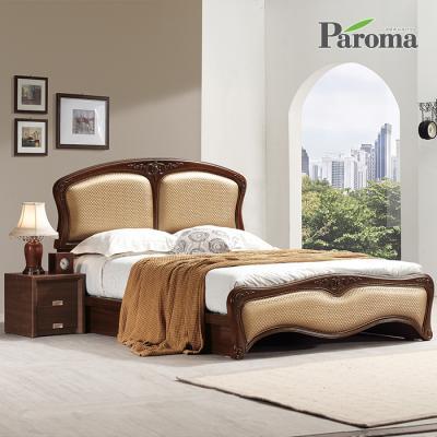 파로마 라인 통깔판 클레식 침대(Q)+7존참숯 매트