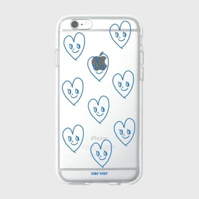 [어프어프] 젤리케이스 Cutie love-blue
