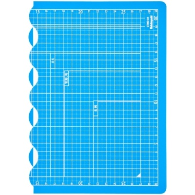 [나카바야시] 접이식커팅매트A4 블루 [개/1] 383280