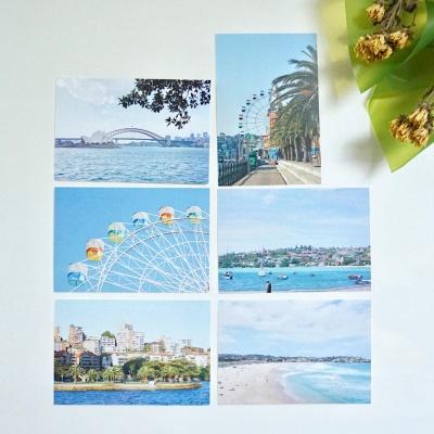 메리필름 호주 시드니 여행 엽서 set (6장)