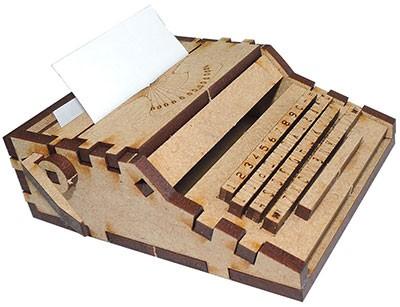 장식소품만들기 클래식 타자기 모형 키트 DECO2015004