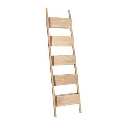 [Hubsch]Display ladder, oak, nature 889025 선반