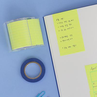 그리드 모눈 메모롤 테이프 50mm