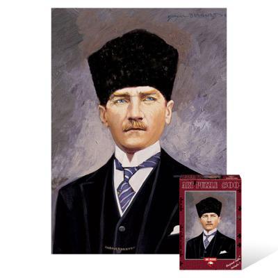500피스 직소퍼즐 - 터키의 대통령 케말 아타튀르크