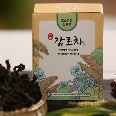 감로700 유기농 고소하고달콤한 감로차 12g(1.0gx12T)