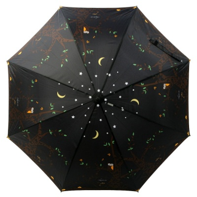 보그 일반형 자동 장우산 - 밤에부엉이