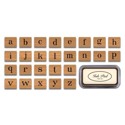 카발리니 빈티지 스탬프 - 알파벳소문자