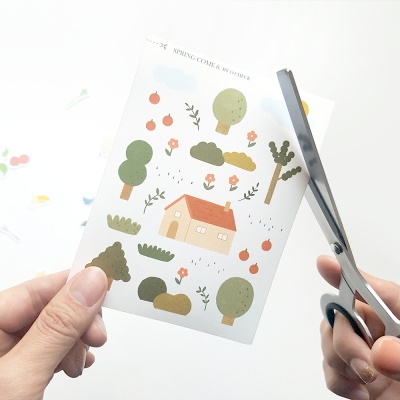 CUTTING STICKER 컷팅스티커