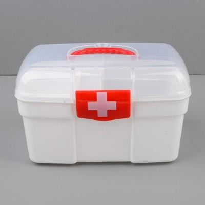 구급상자 구급약상자 약통 상비약 구급함 응급키트2단