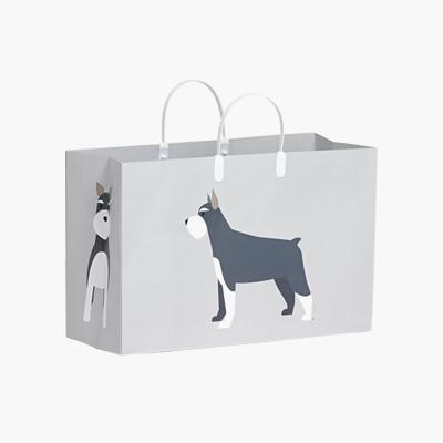 PLUSBOX PAPER BAG (Schnauzer) (쇼핑백)