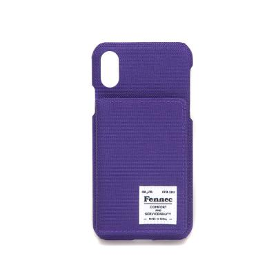 FENNEC C&S iPHONE X/XS POCKET CASE - PURPLE
