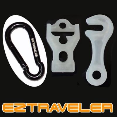 이지트래블러 야광라인락스토퍼세트(5mm~6mm로프용)