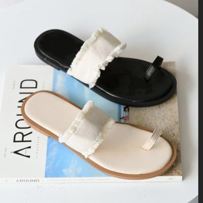 지프 여성 발가락 샌들 슬리퍼