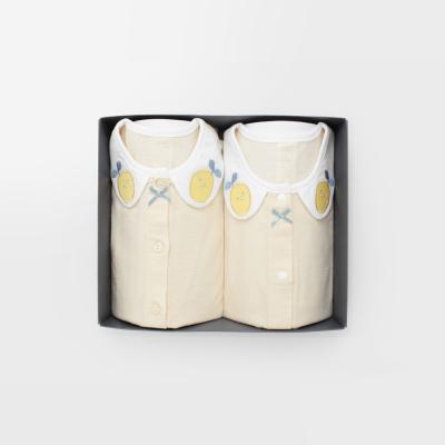 레모니 아기 돌선물세트(내의+수면조끼)_여름용(5부)