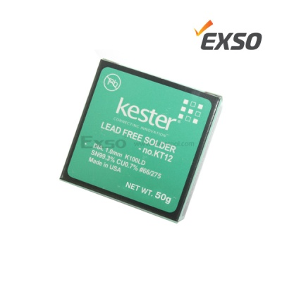 엑소 무연 실납 kester No. KT12 1.0mm 50g/100g